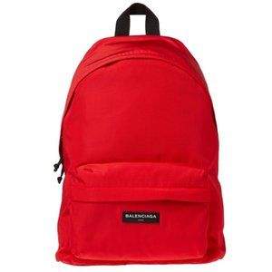 New Balenciaga Explorer Red Nylon Rucksack